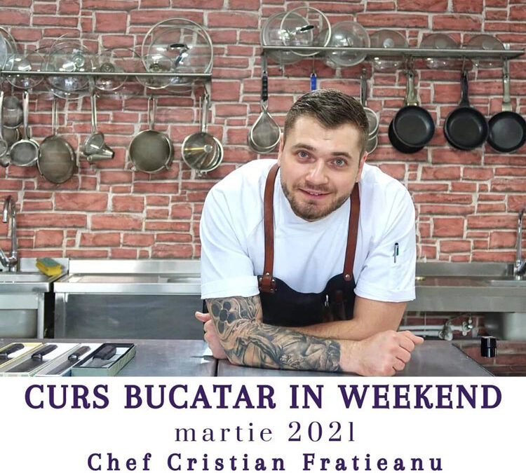 Curs Bucatar In Weekend – Invata sa gatesti ca un CHEF