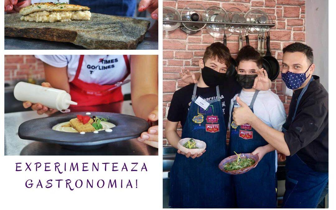 Tabara Culinara Adolescenti – ateliere de gatit Horeca Kids
