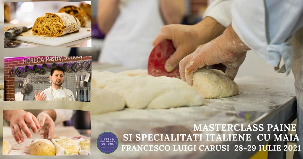 ARTISAN BREAD MASTERCLASS – FRANCESCO LUIGI CARUSI